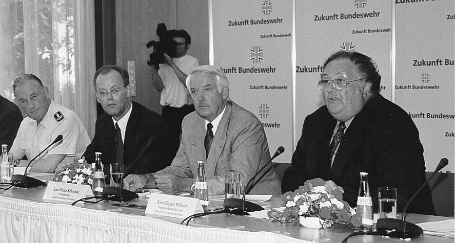 Pressekonferenz in Bonn, Gründung BzBwHw Koblenz